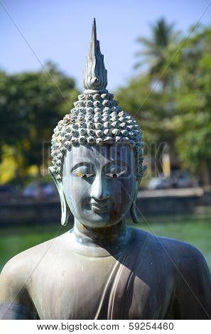 Buddha Statue In Gangarama Temple