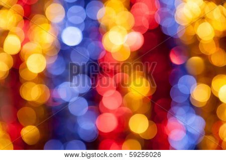 abstarct circle colorful holiday background