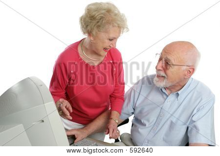 Retired Couple Online