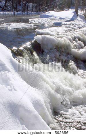 Frozen Dam