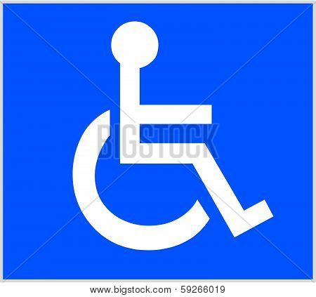 International Wheelchair Symbol