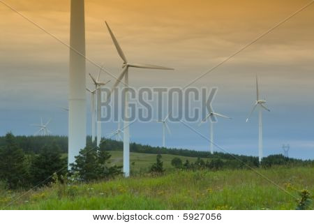 Wind Turbine In Canada