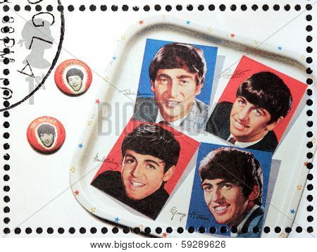 The Beatles Stamp