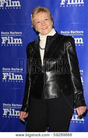 SANTA BARBARA - FEB 1: Martine Saunier at the Outstanding Performer Of The Year Award at the 29th Santa Barbara International Film Festival on February 1, 2014 in Santa Barbara, CA