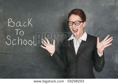 Back To School With Screaming Teacher
