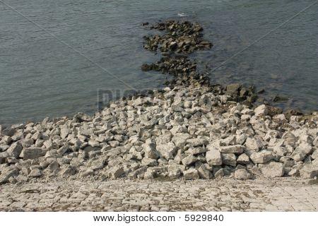 Stones at Rhine