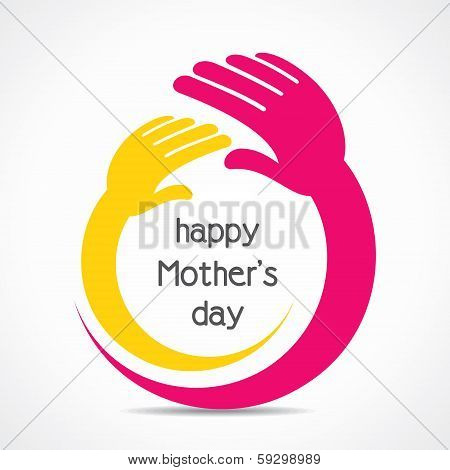happy mothers day background concept stock vector