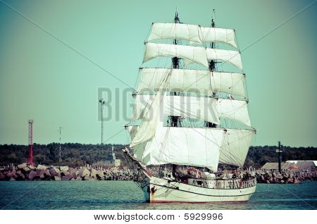 Aft Of Sailboat