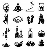 image of body-lotion  - Collection of icons representing wellness - JPG