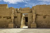 stock photo of ramses  - Temple of Karnak in Egypt africa Monument - JPG