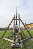 stock photo of trebuchet  - Trebuchet  - JPG