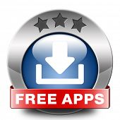 free app download icon no charge gratis apps button