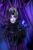 foto of evil queen  - Dark queen - JPG