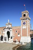 image of arsenal  - The Porta Magna at the Venetian Arsenal - JPG