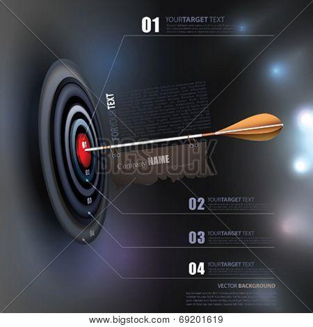 Vector Business Target