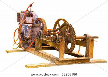 Old Electric Generator