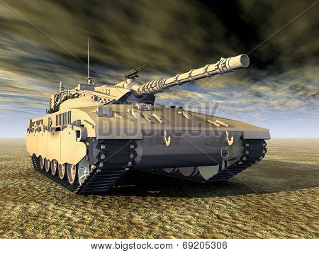 Israeli Main Battle Tank