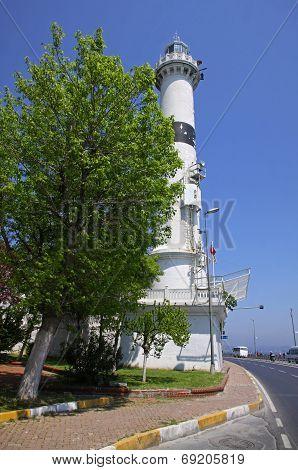 Ahirkap Feneri - Historical Lighthouse In Istanbul, Turkey