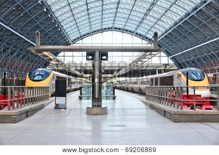 St Pancras Railway Station