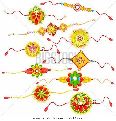 Collection of Rakhi