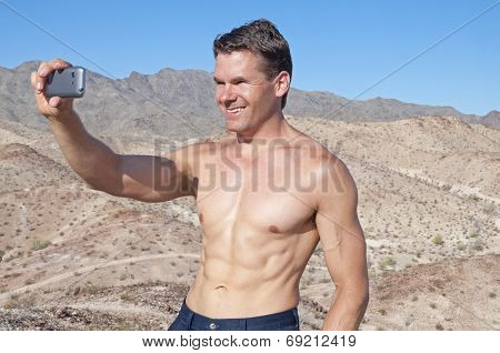 Taking A Selfie In The Desert