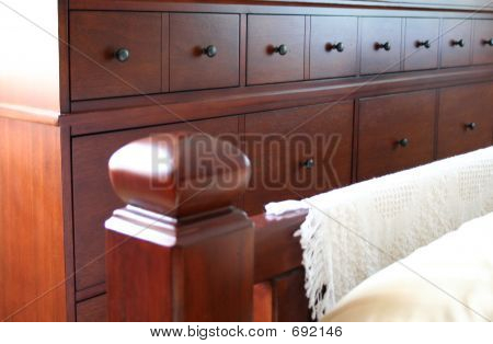 Bedpost And Dresser