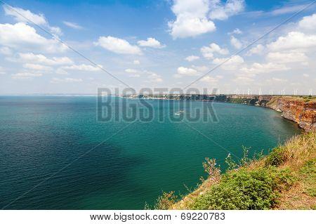 Kaliakra Headland Panoramic Landscape, Bulgarian Black Sea Coast