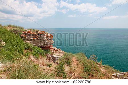 Rocks On Kaliakra Headland, Bulgarian Black Sea Coast