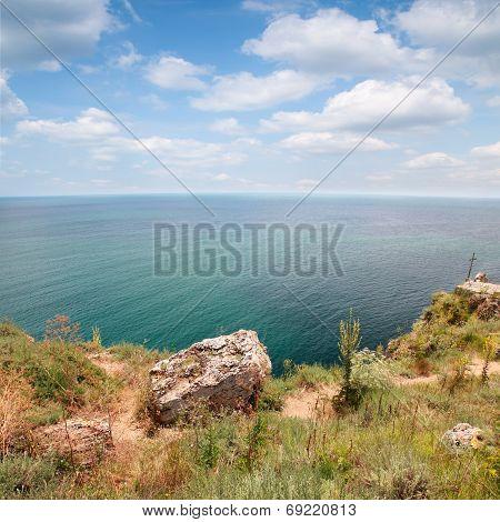 Coast Of Kaliakra Headland, Bulgarian Black Sea Coast