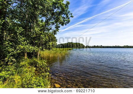 Lake Hancza. The Deepest Lake In Central And Eastern Europe. Poland
