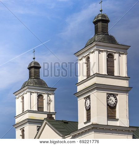 Church Of St. Alexander In Suwalki. Poland