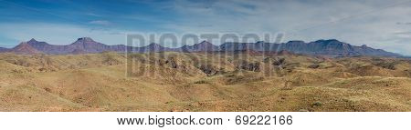 Panorama Of Table Mountains