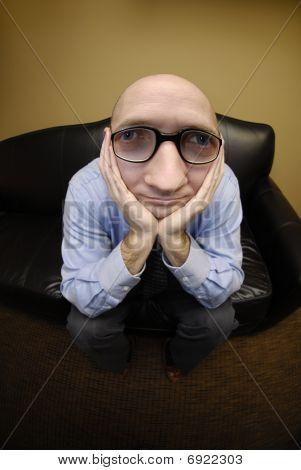 Business Man Big Head
