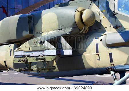 Modern Russian Attack Helicopter