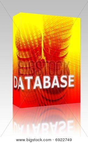 Database Data Storage Box Package
