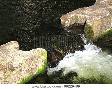 River Waterfall Landscape