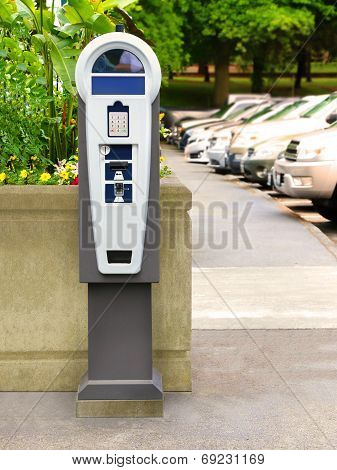 Parking Meter Ticket standing Pay Station Kiosk Terminal