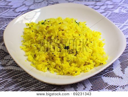 Poha: a popular Indian snack