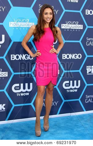 LOS ANGELES - JUL 27:  Lindsey Morgan at the 2014 Young Hollywood Awards  at the Wiltern Theater on July 27, 2014 in Los Angeles, CA