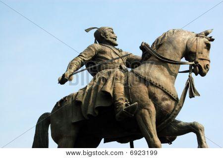 Shiva statue, Mumbai