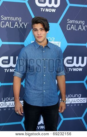 LOS ANGELES - JUL 27:  Romeo Testa at the 2014 Young Hollywood Awards  at the Wiltern Theater on July 27, 2014 in Los Angeles, CA