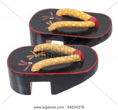 Black Geta Sandals
