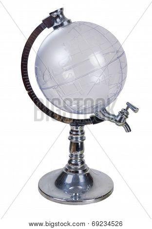 Globe Liquid Dispenser