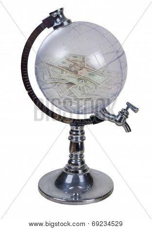 Globe Money Dispenser