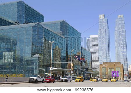 Javits Convention Center in Manhattan