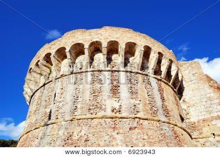 City Walls Of Colle Val D'elsa