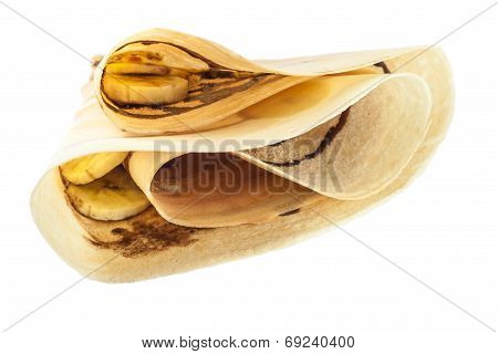 Banana Chocolate Crepe