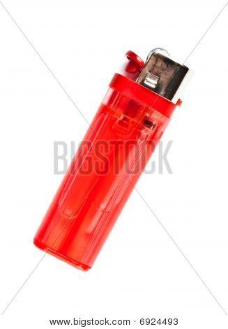 Encendedor rojo