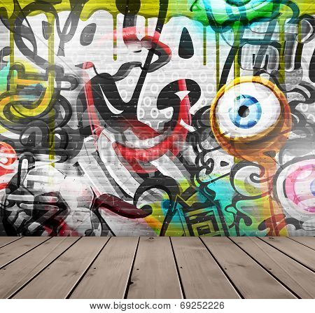 Graffiti On Wall