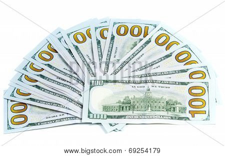 Dollars Currency Isolated